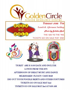 Rock And Roll @ Golden Circle Senior Resource Centre | Stettler | Alberta | Canada