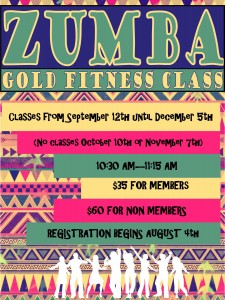 Zumba GOLD FITNESS CLASS @ Golden Circle Senior Resource Ctr | Red Deer | Alberta | Canada